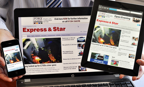 Express and Star responsive