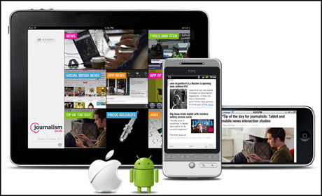 Webscrumbs Journalism.co.uk web app