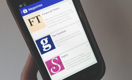 Android Newsstand app 'important development' for publishers