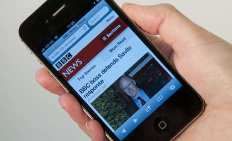 BBC responsive design iphone