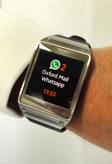oxford mail whatsapp watch