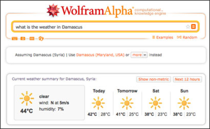 Tool of the week for journalists: WolframAlpha | Media news