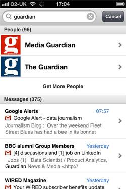 App of the week for journalists: Greplin   Media news