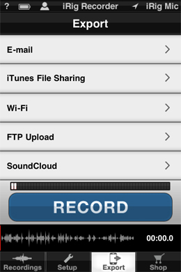 App of the week for journalists - iRig Recorder, for