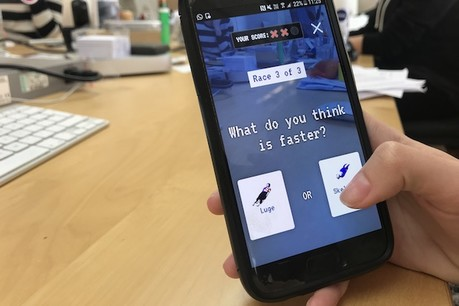 9fa599a78715 The Washington Post s latest augmented reality game brings the Winter  Olympics into your living room