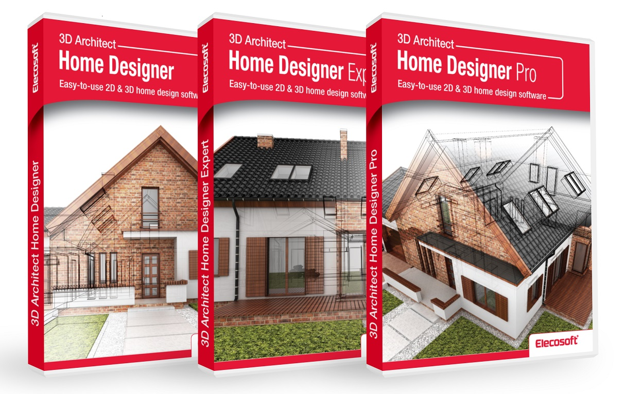 elecosoft releases new 3d architect home designer products
