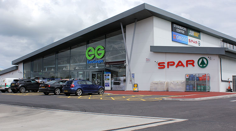 Instant Garage Euro : Petrol forecourt giant euro garages choose shopworks for