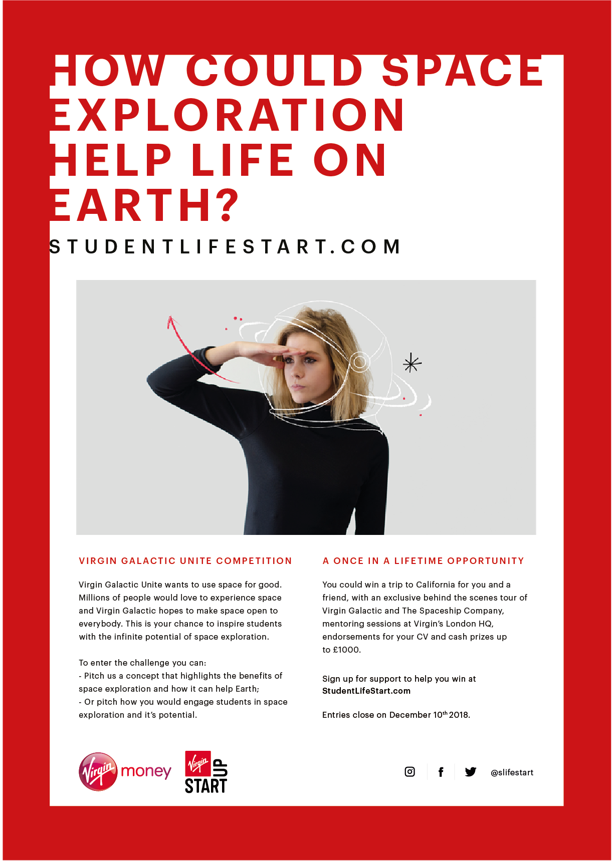 Inspire a generation with the new LifeStart challenge from Virgin Money and  Galactic Unite