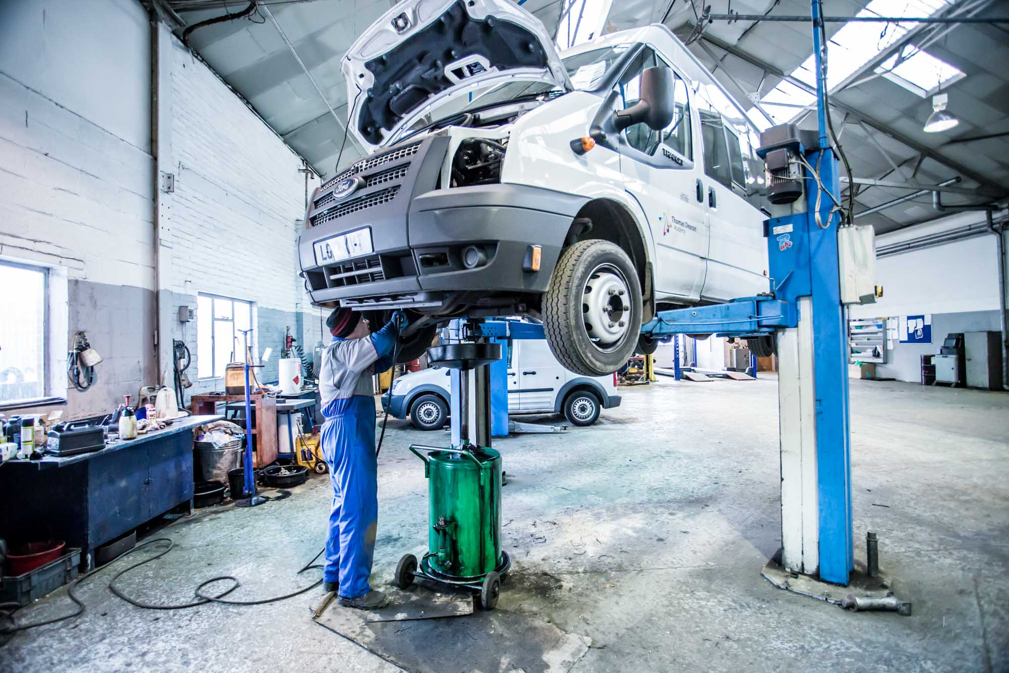 Ford Repair Shop >> Tc Harrison In Burton Upon Trent Now Offers Dedicated Ford Transit
