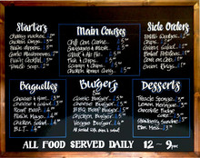 Chalkboard Signs ltd