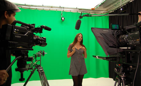 Dennis Publishing video studio