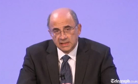 Leveson delivering report
