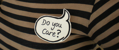Do you care speech bubble