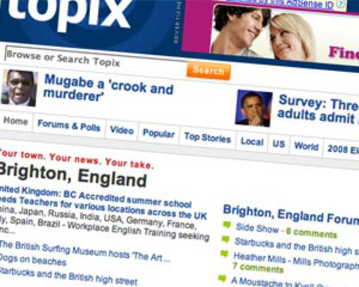 News aggregator Topix adds six new content partners | Media news