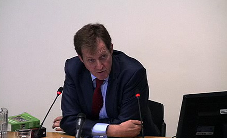Alastair Campbell at Leveson inquiry