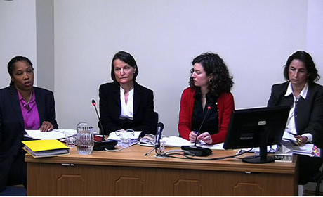 Women's rights groups before Leveson