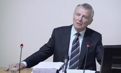 Max Mosley at Leveson inquiry