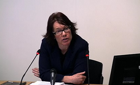 Sandra Laville at the Leveson inquiry
