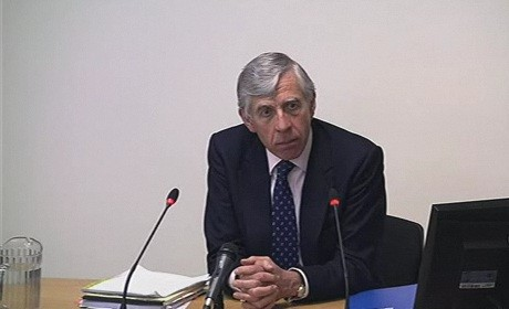 Jack Straw at the Leveson inquiry