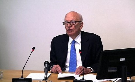Rupert Murdoch at the Leveson inquiry - day two
