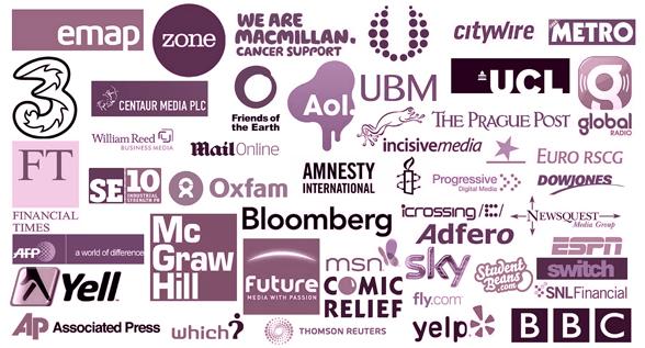 Journalism job advertisers on Journalism.co.uk